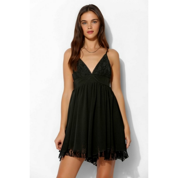 UO Triangle Lace Dress